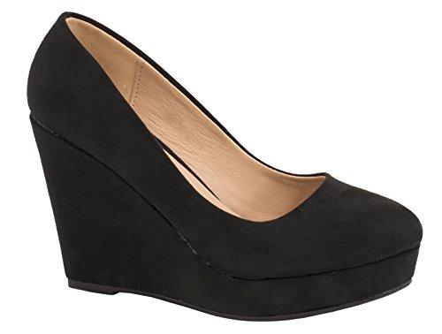 Elara - zapatos de tacón Mujer Schwarz Berlin