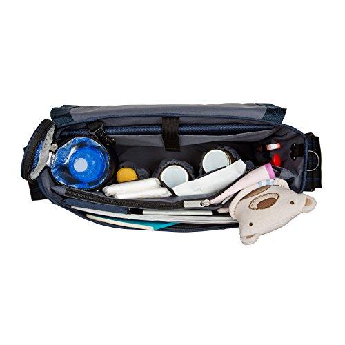Lässig bolso cambiador Casual Sporty Messenger Bag azul azul