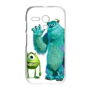 Motorola G Cell Phone Case White Monsters, Inc SJ9474814