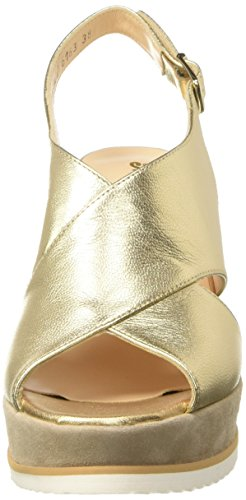 Melluso Y0307 - Tacones Mujer Oro (Platino)