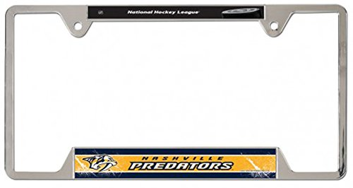 Nashville Predators License Plate Frame - 3