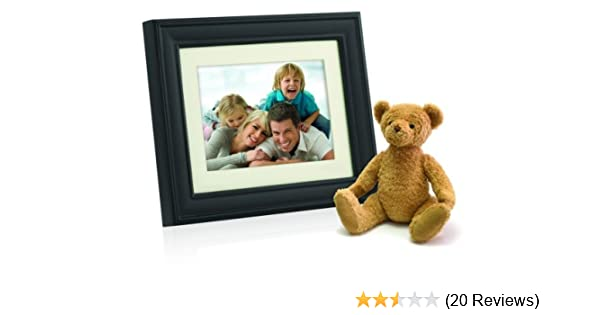 Amazon.com : Philips 10.4-Inch Digital Photo Frame (Brown Wood Frame ...
