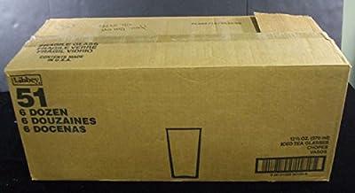 "Case of (62) 2006 Kentucky Oaks 132nd Ice Tea Glasses 5"" Tall"