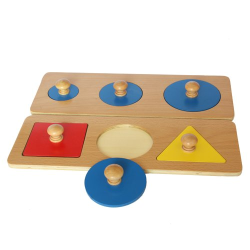 Montessori Multiple Shape Puzzles
