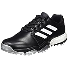 Adidas 2017 Adipower Boost 3 Mens Spikes Waterproof Leather Golf Shoes - Wide Fitting