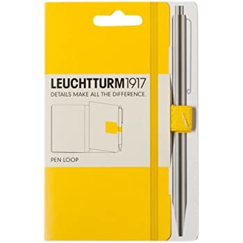 LEUCHTTURM1917 345162 Self-Adhesive Pen Loop - Citron