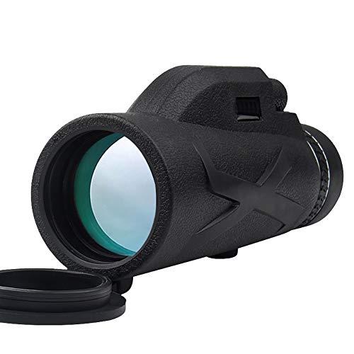 Monocular Telescope 80X100 HD Night Vision Monocular Eyepiece Telescope Waterproof with Phone Tripod & Mount Adapter & BAK4 Prism FMC for Target Shooting, Wildlife Scenery, Hiking, Camp, Concert