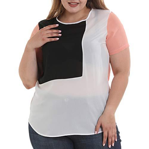 4272ae54e85 2019 Women s Plus Size S-6XL T-Shirt Chiffon Breathable Cool O-Neck ...