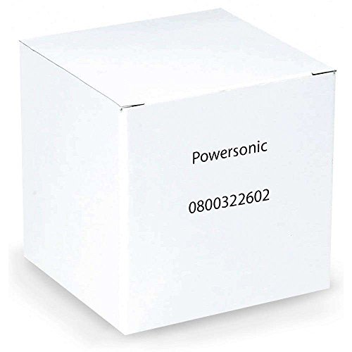 (Powersonic PS-832 - 8 Volt/3.2 Amp Hour Sealed Lead Acid Battery with 0.187 Fast-on Terminals)