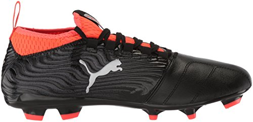 18 3 M Shoes 9 Soccer Blast FG Black US Red Men's 5 Silver PUMA One tqwZOxaHFE