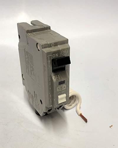 GE ARC Fault Circuit Breaker, 15A 120VAC, Single Pole AFCI (THQL1115AF) (Single Circuit Breaker Ge Pole)