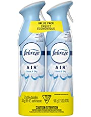 Febreze Air Freshener Spray, Odor Eliminator Linen & Sky, 2 Count - Packaging May Vary