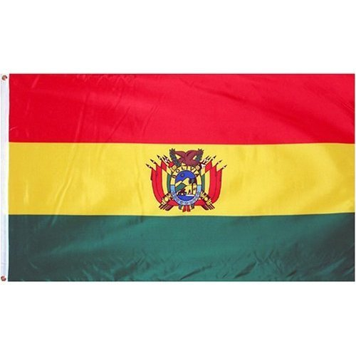 Bolivia Flag 3ftx5ft Polyester