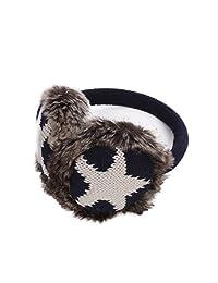 Winter Soft Faux Fur Adjustable Star Earmuffs Ear Warmers