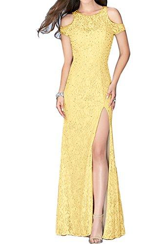 TOSKANA BRAUT - Vestido - Estuche - para mujer amarillo