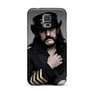 Samsung Galaxy S5 ERs6371eEgm Customized Colorful Motorhead Band Pattern Scratch Resistant Hard Cell-phone Cases -InesWeldon