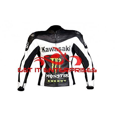 GIE - Chaqueta de piel para carreras de motocicletas, diseño ...