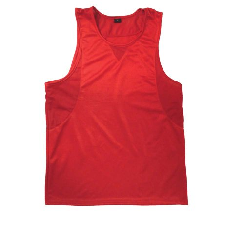 Jersey Insert Red - Ringside in-Stock Boxing Jersey, Red, Youth Large