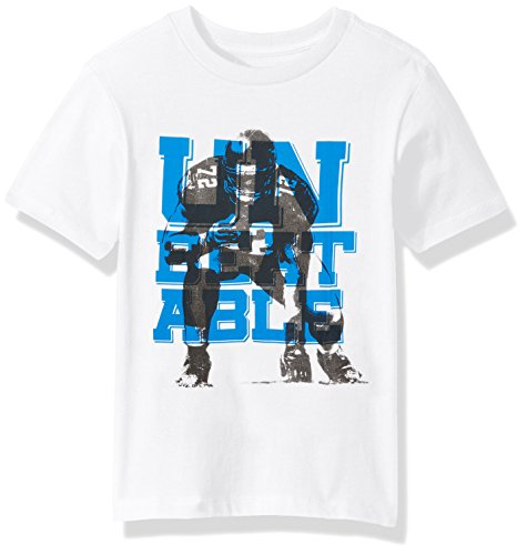 The Children's Place Big Boys' Sport Graphic Tee, White, M (7/8)