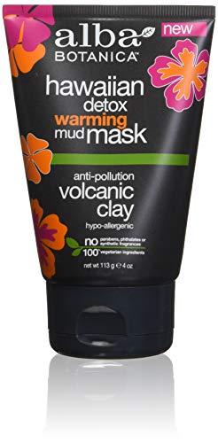 Warming Clay Mask - ALBA BOTANICA Warming Detox Mask, 4 Ounce