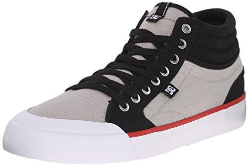 DC Shoes Men's Evans Smith Hi Top Shoes - negro/gris