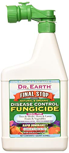 Dr. Earth 7004 Concentrate 3 Controls Organic Fungicide Hose End, 32-Ounce (Best Doctor On Earth)