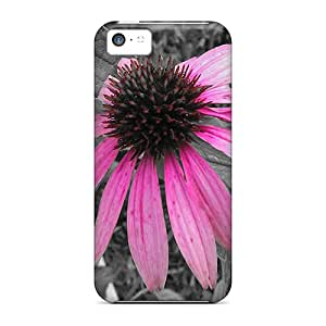 Hot Tpye Colorshift Echinacia Cases Covers For Iphone 5c