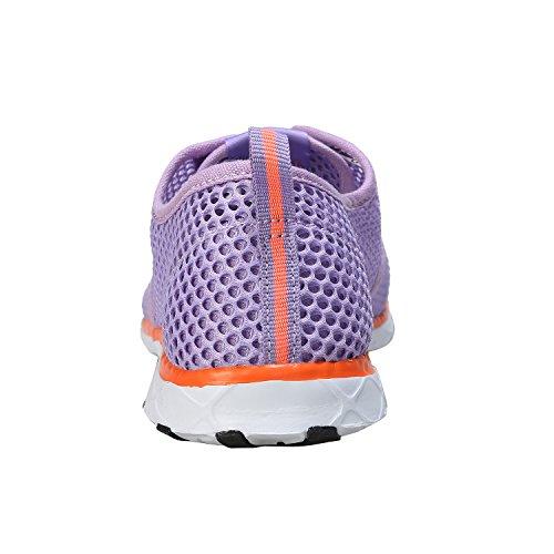 Water Women's Mesh Slip On Shoes Zhuanglin Purple wSaqdFIqf