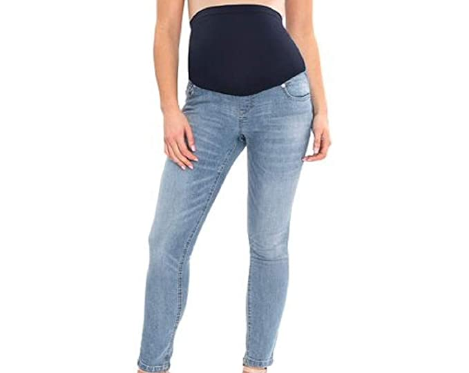 888f4b44b8dfa Great Expectations Maternity Full Panel Ankle Length Skinny Jeans ...