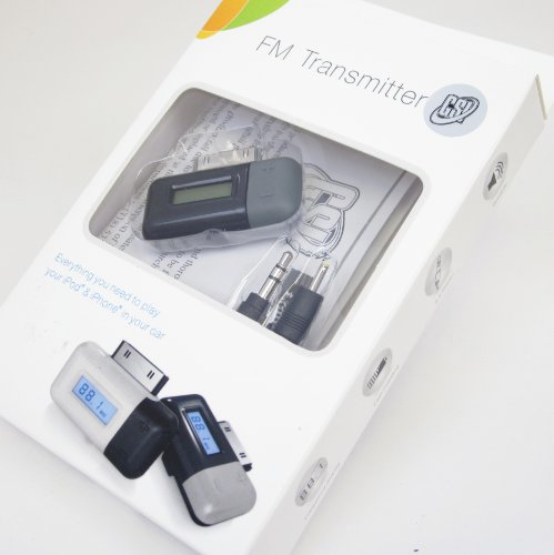 UPC 068889009408, GSI Super Quality Mini FM Transmitter/Modulator With LCD Display, For Apple iPhone 3G/3GS/4G, iPod Nano, Touch, Video, Classic