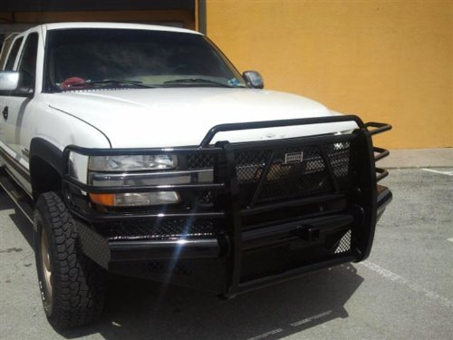 Ranch Hand FBC011BLR Bumper, Front - Must Remove Tow Hooks