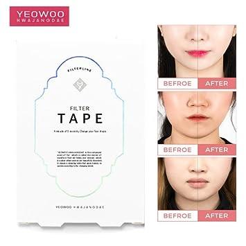 Genoeg Amazon.com: WBSkin Yeowoo Hwajangdae Filter Tape 2EA Face Lifting @XH21