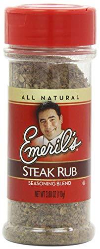 - Emerils All Natural Steak Rub (3.88 oz ea) 2 Pack by Emeril