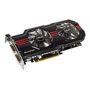 Asus GeForce GTX560 TI DCII TOP/2DI - Tarjeta gráfica NVIDIA (PCI-e, memoria de 1 GB GDDR5, DVI dual, HDMI, 1 GPU)