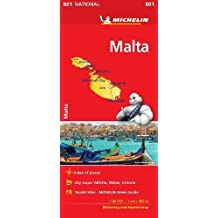 Malta - Michelin National Map 801 2018
