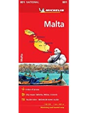 Malta - Michelin National Map 801 2018