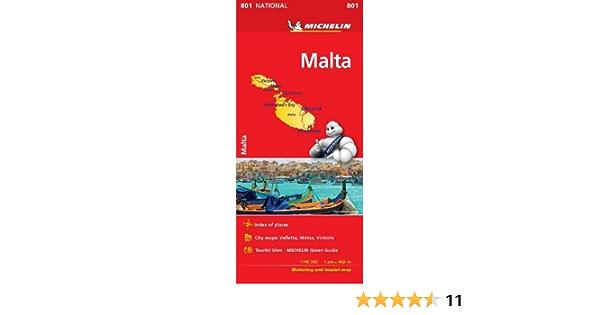 Mapa National Malta Colección Mapas National Michelin: Amazon.es: Michelin: Libros en idiomas extranjeros