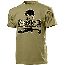 Chris Kyle American Sniper Navy Seal US Iraq Texas Hero 160 Kills Army Skull