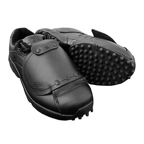 Reaction Pro Plate Lo - Black - D Width (Softball Shoes Leather)
