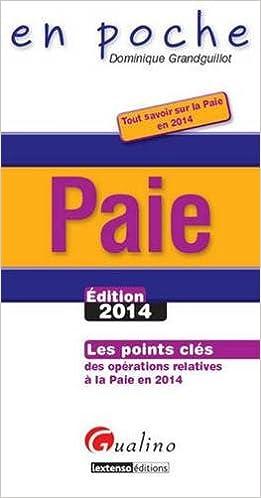 Livres gratuits en ligne Paie 2014 pdf