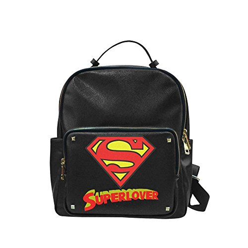 [Navarro Superman Logo Unisex Leisure Backpack School Leisure Shoulder Bag] (Iron Fist Costumes For Kids)