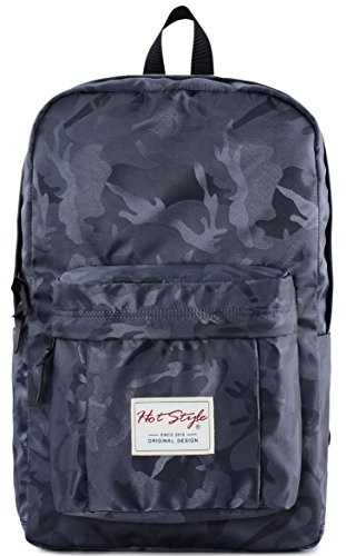 Camo Laptop Backpack - HotStyle Waterproof College Bookbag Fits 15.6