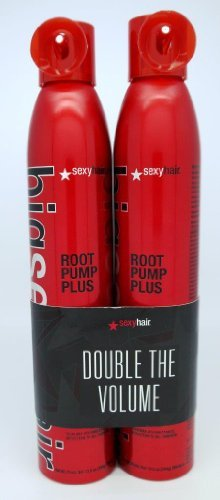 Hair Root Pump Mousse - Big Sexy Hair Root Pump Plus Volumizing Spray Mousse, 10 oz, 2 pk