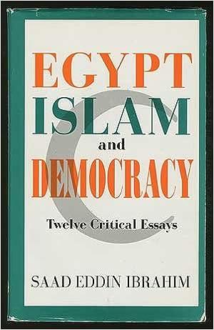 Book Egypt, Islam and Democracy: Critical Essays