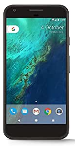 Google Pixel XL G2PW210032GBBK Factory Unlocked Smartphone, 32GB, 5.5-Inch Display - U.S. Version (Quite Black)
