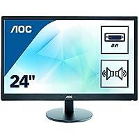 AOC E2470SWDA Ecran PC LED 23,6 (59,94 cm) 1920 x 1080 2 ms VGA/DVI Noir