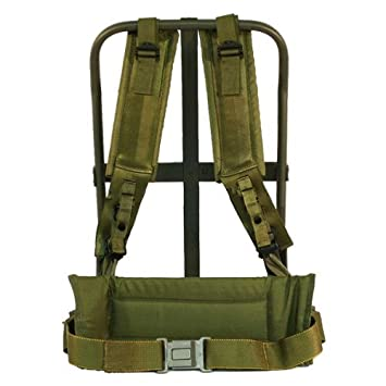 New Olive Drab Alice Pack Frame with OD Straps by Army Universe ... 9a392288ac9