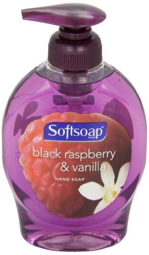 Softsoap 29522CT Elements Hand Soap, Black Raspberry & Vanilla Scent, 7.5 oz Pump Bottle (Case of 12)