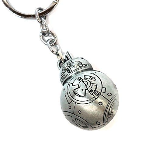 Teri's Boutique Star Wars Movie BB-8 Robot Men Teen Fan 3D Keychains - Keychain Bb8