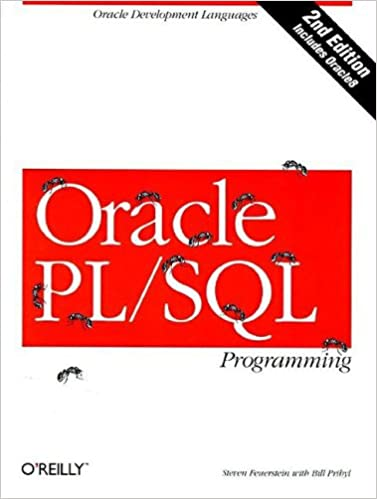 Book Oracle PL/SQL Programming